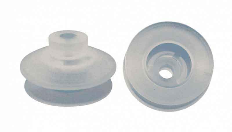 Ventosa de silicone para vidro